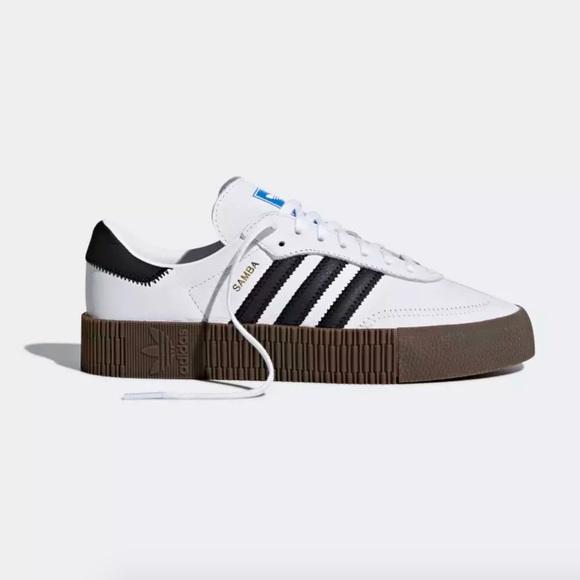 771716006d40 Adidas Sambarose Platform Shoes